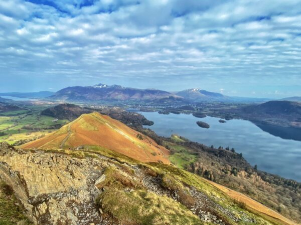Catbells walk from hawes end
