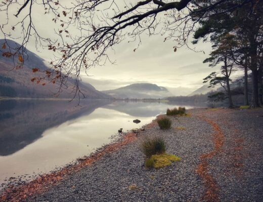 buttermere autumn walks in the lake district
