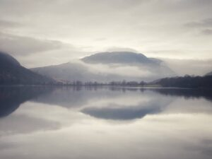 Brooding Mist on Buttermere Lake
