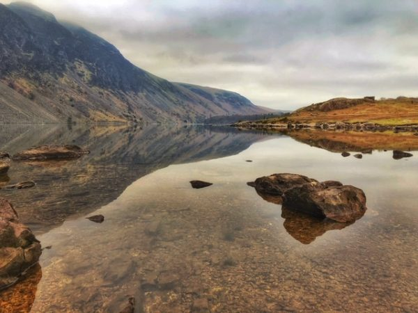 Wastwater Screes canvas