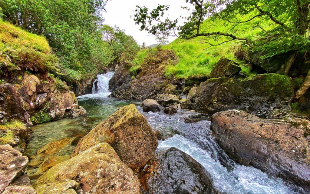 ritsons force waterfall lake district