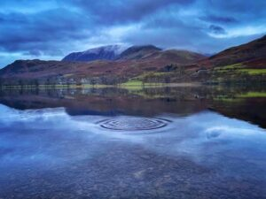 The Ripple Effect on Buttermere Water