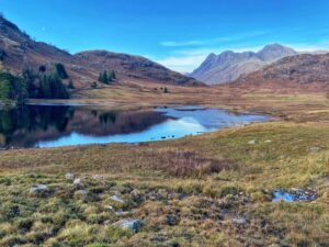 Blea tarn lakeside walk