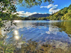 Ullswater in the autumn