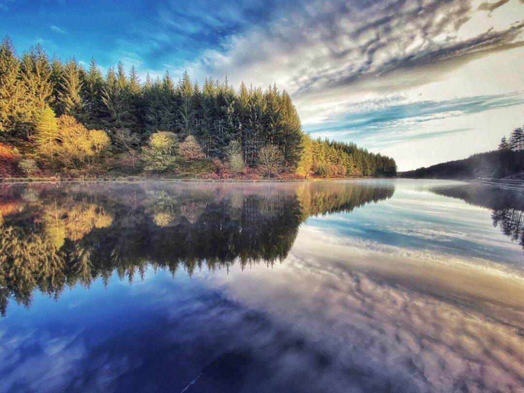Entwistle reservoir walks in Lancashire