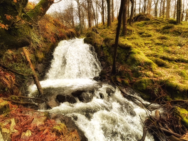 Tom Gill waterfall coniston