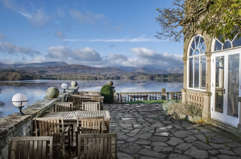 Langdale chase hotel on lake district road trip