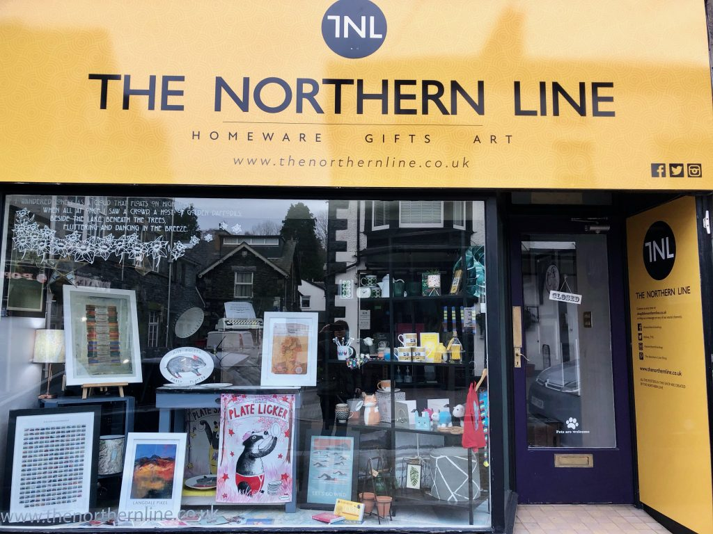 The Northern Line shop Windermere