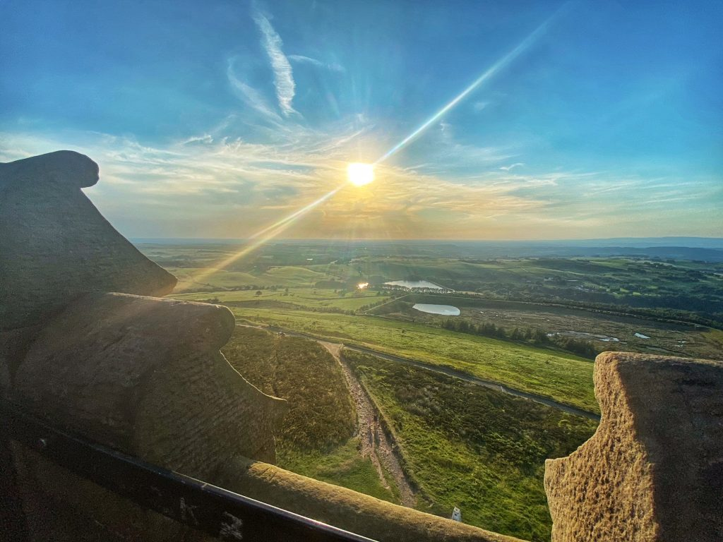 View from darwen Tower
