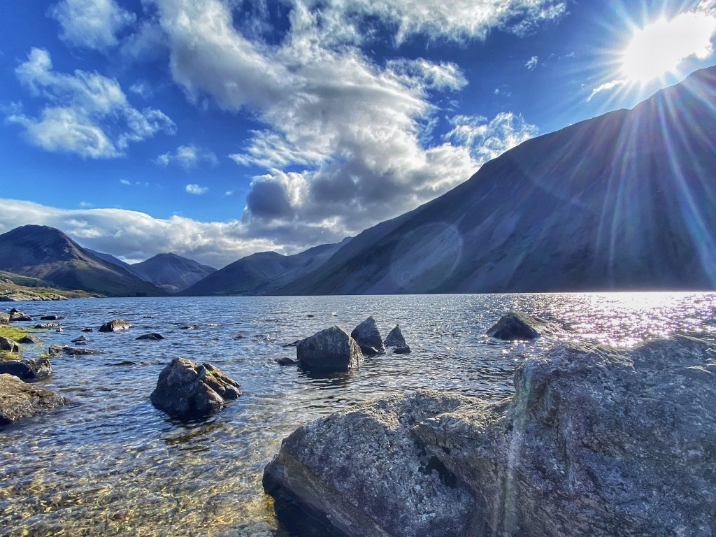wastwater lakeside walks in the lake district