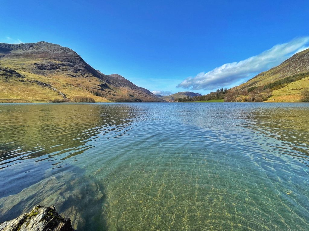 Buttermere wild swimming