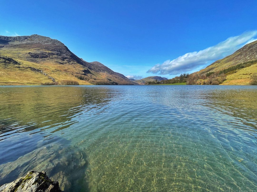 Buttermere wild swimming lake district