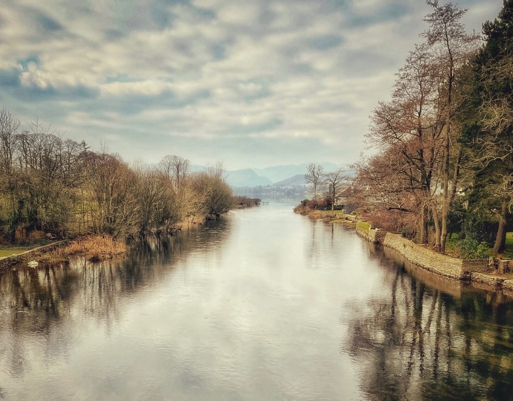 Eamont River from Pooley Bridge