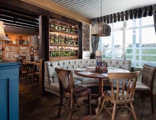 dining at Temperance inn Ambleside