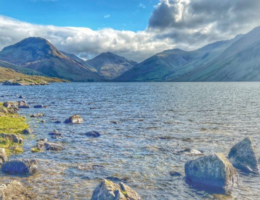 wastwater low level walk in the lake district