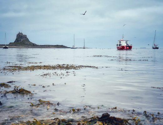 Lindisfarne and northumberland coast